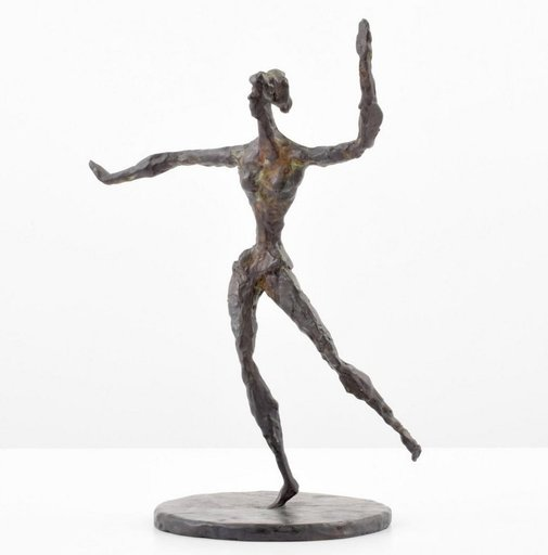 Chaim GROSS - Scultura Volume - Chaim Gross Bronze Figural Sculpture