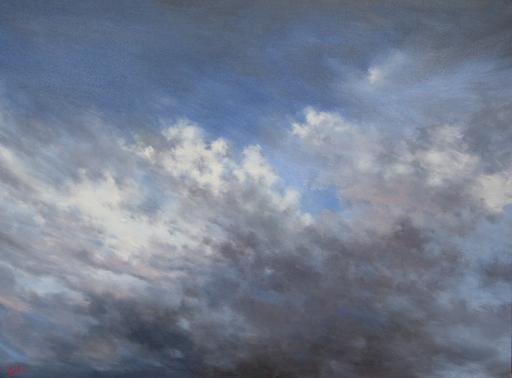 Franck BAILLEUL - Gemälde - De ma fenêtre