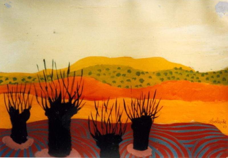 Alfonso ABELENDA ESCUDERO - Pintura - paisaje castellano