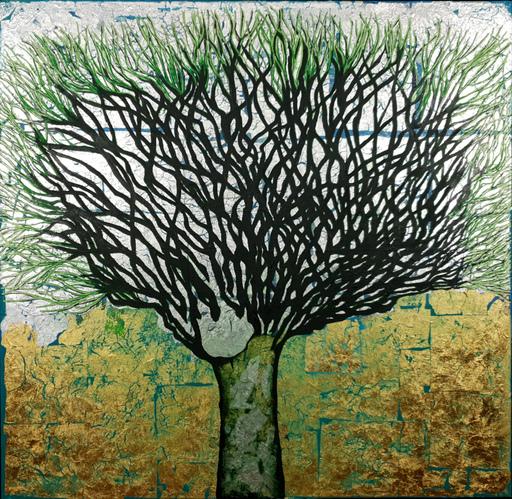 Corine LESCOP - Peinture - Racines de vie
