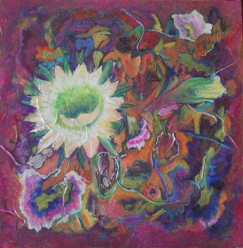 "Theodora BERNARDINI - Painting - ""Echinopsis"""