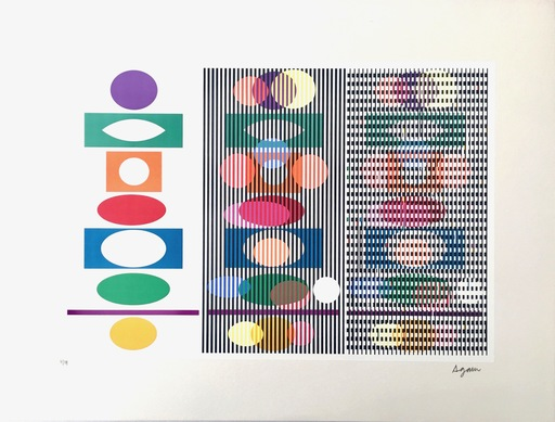 Yaacov AGAM - Stampa-Multiplo - Inter Image