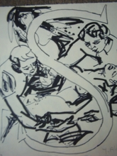 Yvette ALDE - Dibujo Acuarela - Lorenzaccio