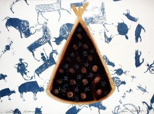 Henri BASSMADJIAN - Drawing-Watercolor - Welcome home
