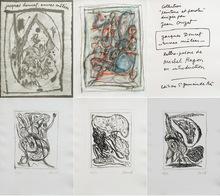 Jacques DOUCET - Drawing-Watercolor - Encres mêlées ex.6