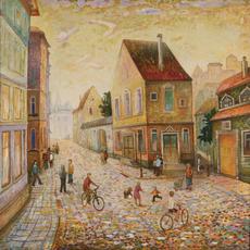Nadezhda ALKSEEVA-BLINOVA - Painting - Sunday Morning