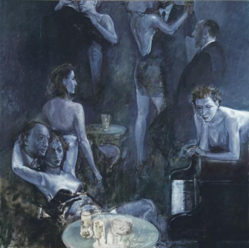 Alberto SUGHI - Pintura - Notturno