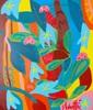 Sébastien COUEFFIC - Gemälde - folium arboris 2