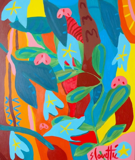 Sébastien COUEFFIC - Painting - folium arboris 2