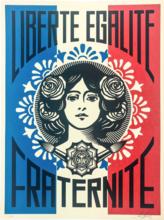 Shepard FAIREY - Print-Multiple - Liberté Egalité Fraternité