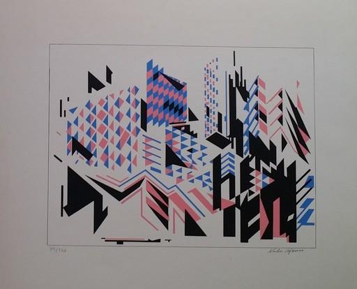 Nadir AFONSO - Druckgrafik-Multiple - NITEROI