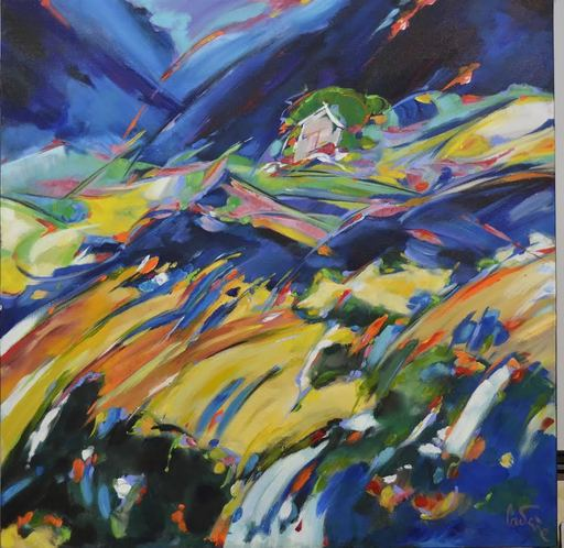 Bernard CADENE - Painting - La maison perdue