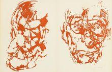 Louis LE BROCQUY - Print-Multiple - SAMUEL BECKETT