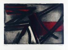 Pierre SOULAGES - Print-Multiple - Eau-forte II