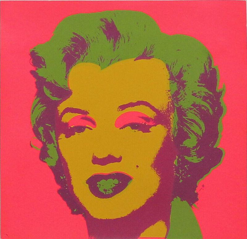 Andy WARHOL - Print-Multiple - Marilyn Monroe