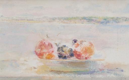 Carmen LAFFON - Painting - NATURALEZA MUERTA EN SANLÚCAR
