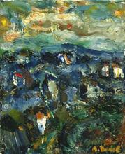 Auguste DUREL - Painting - impressions de Provence (N°46)