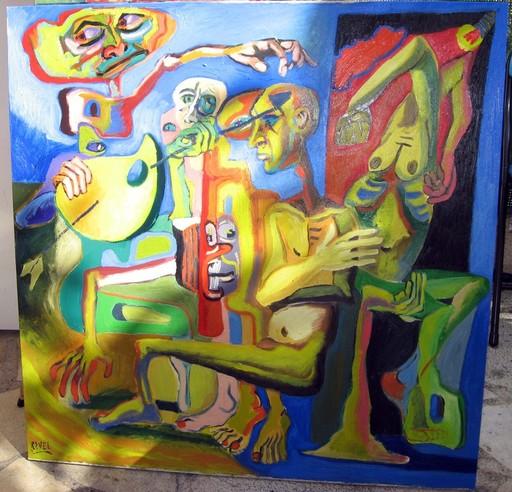 Franck RAVEL - Peinture - LES CORPS INSOLITES