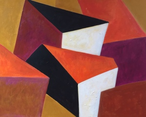 Irène DARGET-BASTIEN - Painting - OZEL