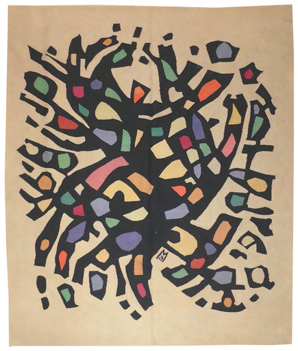 Alfred MANESSIER - Tapisserie - Tapis de sol