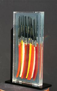 Fernandez ARMAN - Scultura Volume - Paintbrushes II