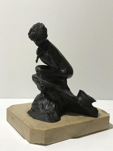 Vincenzo GEMITO - Escultura - Pescatorello