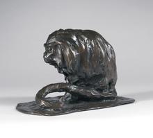 Guido RIGHETTI - Sculpture-Volume - Marmouset Golden Lion