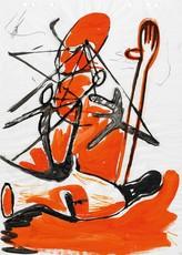 Markus OEHLEN - Pintura - Ohne Titel