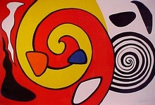 Alexander CALDER - Print-Multiple - Spirale et Turban