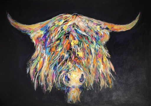 Nicole LEIDENFROST - Gemälde - Cash Cow
