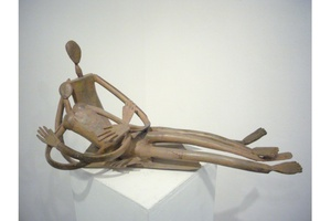 Louis CANE - Sculpture-Volume - Couple allongé