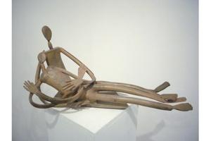Louis CANE - Skulptur Volumen - Couple allongé