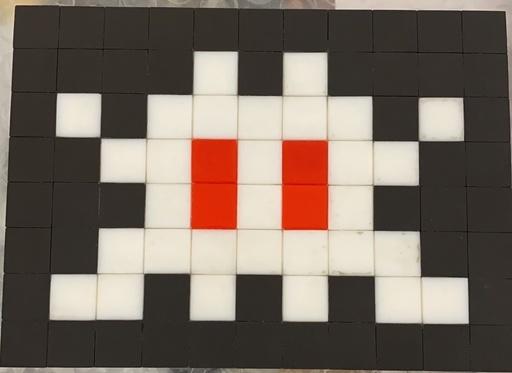INVADER - Ceramic - Alias NCL-09