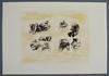 Henry MOORE - Druckgrafik-Multiple - Eight Sculptural Ideas Girl Writing
