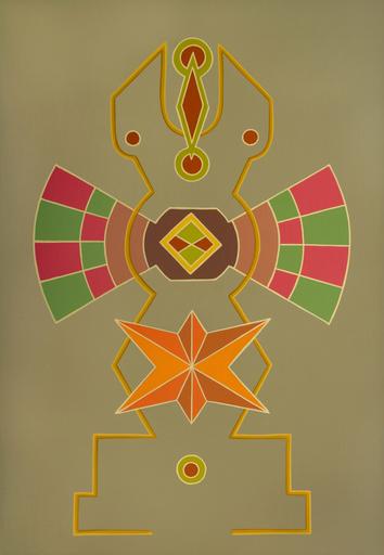 Enrique Rodriguez GUZPENA - Pintura - Abismo de párpados