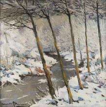 Alexandre ALTMANN - Pintura - Winter Landscape