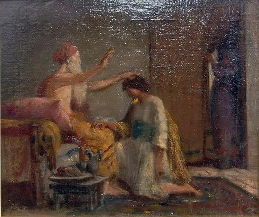 Ramon PARADA JUSTEL - Peinture - EL REGRESO