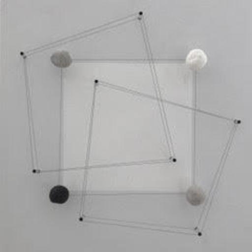 Haruhiko SUNAGAWA - Sculpture-Volume - Transposition (carré) II