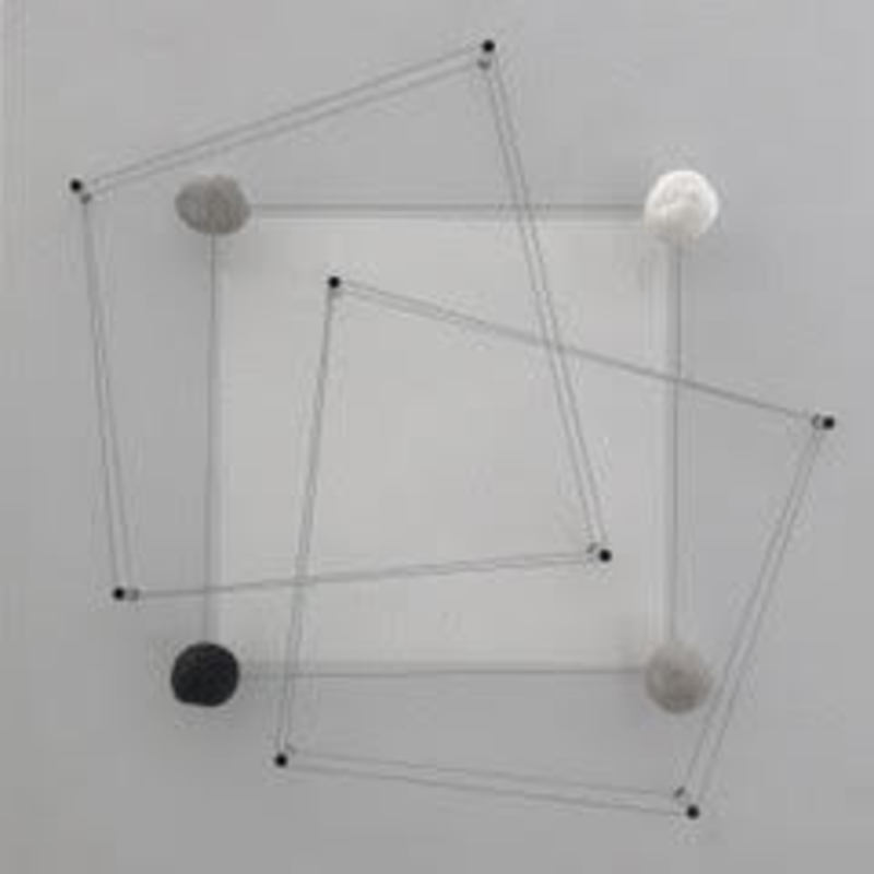 Haruhiko SUNAGAWA - Skulptur Volumen - Transposition (carré) II
