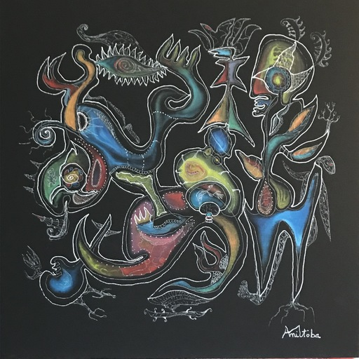 MANITOBA - Peinture - Spirit has no name