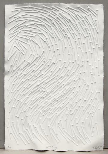 Günther UECKER - Print-Multiple - Strömung