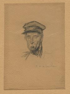 Théophile Alexandre STEINLEN - Estampe-Multiple - LITHOGRAPHIE SUR CUIR SIGNÉE AU CRAYON HANDSIGNED LITHOGRAPH