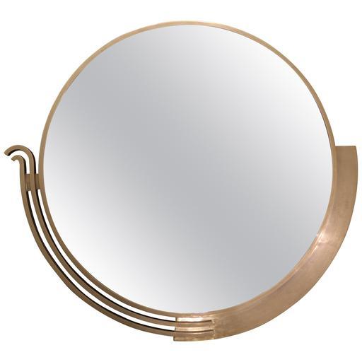 Edgar BRANDT - Miroir moderniste