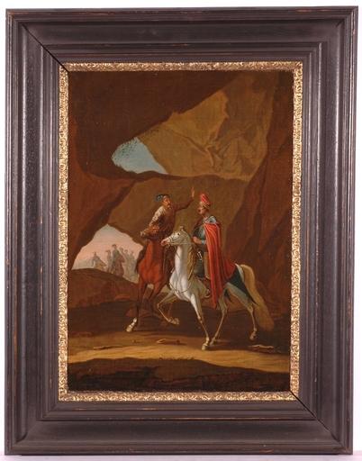 "Georg Philipp I RUGENDAS - Gemälde - ""The Pandurs"", early 18th Century"