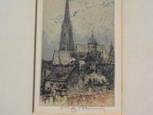 Luigi KASIMIR - Print-Multiple - Wien, Stephansdom