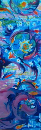 Brigitte MATHÉ - Peinture - Dans la mosquée Rustem Pacha
