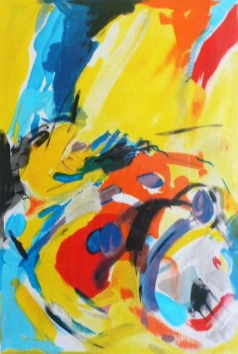 "Jean HUGON - Print-Multiple - ""Animation"""