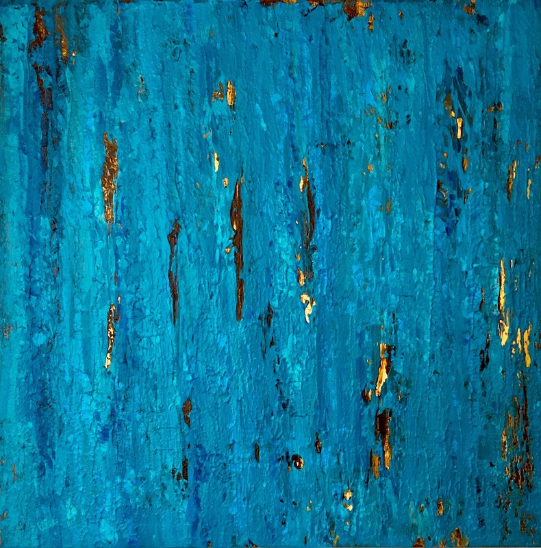 Ulie SCHWAB - Painting - Mysterious Shimmer