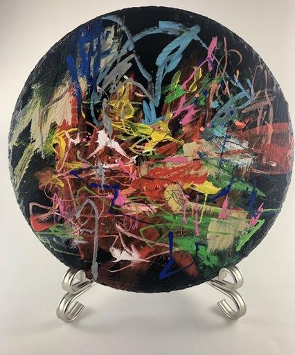Nicole LEIDENFROST - Gemälde - Dancing Trees