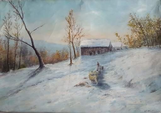 Konstantin Alexandrovitch WESCHTSCHILOFF - Pintura